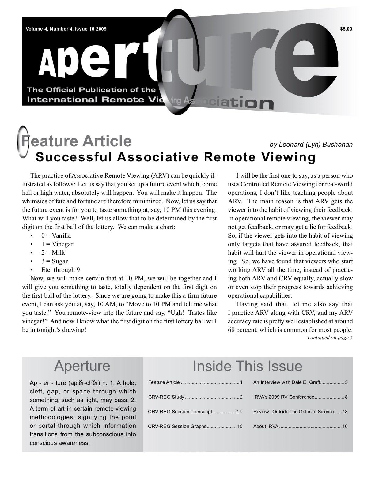 Aperture 16 Cover