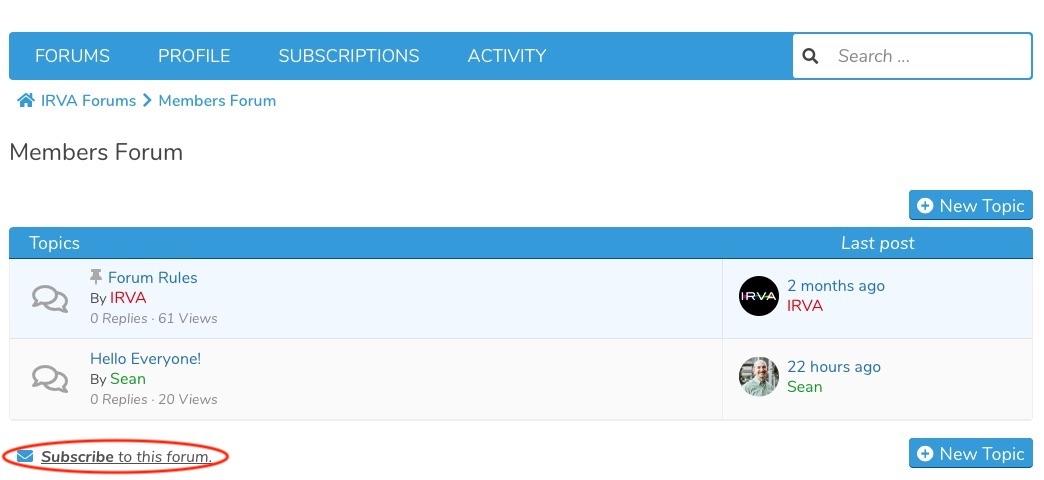 subscribing-to-a-forum