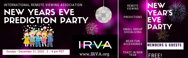 IRVA New Years Eve Prediction Party 2020-2021